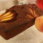 Plumcake cioccolato e percoco