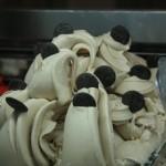 Scirocco, ovvero tris di frutta secca con dischetti di fondente 70%