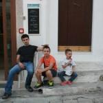 Umberto, Antonio e Dennis