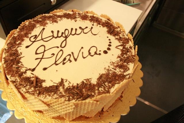la nostra prima torta gelato...venduta!