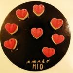 Suggestioni di Adonella, cuori vaniglia e lampone
